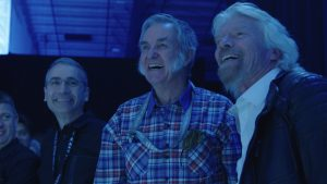 Burt Rutan with Sir Richard Branson